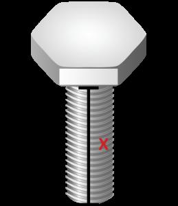 Determine Length of Screw Head for Screw Presenters