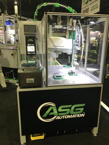 AX20 Table Top Robot at 2018 Assembly Show - Chicago, IL