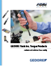 ASG GEDORE Manual Torque Products Catalog